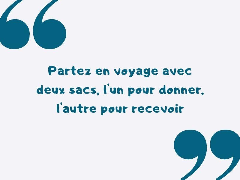 proverbe voyage